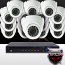 16CH IMAX NVR & Ninja 4 Megapixel IP Eyeball Dome Camera 16 Cam Kit (White)
