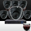 16CH IMAX NVR & Ninja 4 Megapixel IP Eyeball Dome Camera 8 Cam Kit
