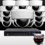 16CH IMAX NVR & Ninja 4 Megapixel IP Mini Dome Camera 16 Cam Kit (White)