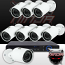 Ninja 4 Megapixel IP Mini Bullet Camera 8 CH Kit