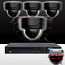 Ninja 4 Megapixel IP Dome Camera 4CH Kit