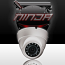 4 Megapixel IP Eyeball Dome Camera 2.8mm Lens  IP67 196ft. Night Vision (WECB3V341M-IR/28) (Ninja) (White)