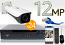 24 CH NVR with 24 4K 12MP Bullet Cameras 4K Kit for Business Professional Grade FREE 1TB Hard Drive