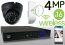Wireless 4MP IP Eyeball Dome (16) Camera Kit (Ninja)