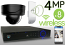 Wireless 4MP IP Dome (8) Camera Kit (Ninja)