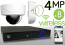Wireless 4MP IP Dome (8) Camera Kit (White)