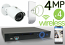 Wireless 4MP IP Mini Bullet (4) Camera Kit