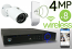 Wireless 4MP IP Mini Bullet (8) Camera Kit