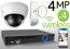 Wireless 4MP IP Dome (4) Camera Kit (IP2728)