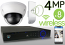 Wireless 4MP IP Dome (8) Camera Kit (IP2728)