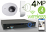 Wireless 4MP IP Wedge Dome (4) Camera Kit (IP2828)