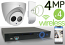Wireless 4MP IP Dome (4) Camera Kit (IP5341EM)