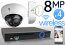 Wireless 8MP IP Dome (4) Camera Kit