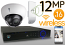 Wireless 12MP IP Dome (16) Camera Kit