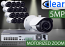 32 CH NVR with (16) IPX11 5 Megapixel, 3.6-10mm Motorized Lens, 30m IR, H.265, CVBS (BNC) Optional, Network IP Bullet Camera
