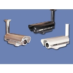"CVC-1700 1/3"" B/W Bullet Camera With Removable SunShield"