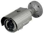 CVC5100BPVF PIR Bullet Camera, 2.8-12mm, Outdoor Weather Resistant Camera with PIR sensor & white LEDs, Grey Housing