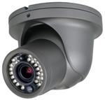 CVC5300DPVFW Dome/Turret Camera with PIR Sensor and white LEDs, White Housing