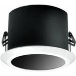 """PELCO DF5-0F 5"""" In-Ceiling Fixed Mount Dome with Flat Window (Smoked)"""
