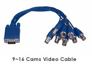 Replacement BNC connector 9-16 (blue)