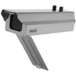 Pelco EH4712DB-2 12-inch Outdoor Aluminum Enclosure 24VAC with Heater/Blower & Drop-Bottom Access