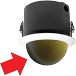 LD5F-3 In-ceiling Mt Gold Dome for Spectra®