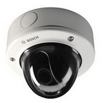 NDC-455V03-21P Bosch FlexiDome Vandal resistant, 1/3-inch Progressive Scan, H.264 dual stream, 2.8 to 10 mm Varifocal lens, NTSC, 60 Hz, Motion+, PoE, Flush mount