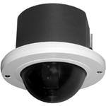 Pelco SD427-HF0 Spectra IV SE, 27x, In-Ceiling Mount, Heavy Duty, Aluminum Housing, Smoked Bubble