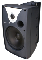 "SP6AWXT 6.5"" AWX Series Indoor/Outdoor Speaker with Transformer, Black, Pair"