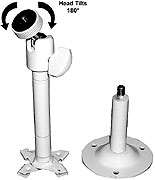 Video Analytics CMB-1W 6 Inch Adjustable Security Camera Mount
