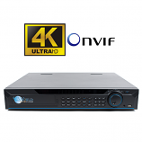 16Ch Super 4K Network Video Recorder 1.5U with 16 PoE