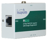 PIS200 Dual-Port DC PoE Injector with Surge Suppressor - 1 piece