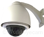 GeoVision/Sony WEC-WCCD55NV Day/Night Color Dome Security Surveillance Camera