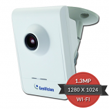 GV-CBW-120 Geovision 3.35mm 1280 x 1024 Wireless Indoor Color Cube IP Security Camera 12VDC