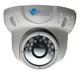 Easy-Mount Weather Resistant High Resolution Dome Camera