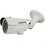 HD TVI IR Bullet Camera 2MP 2.8-12mm Lens 10 Super IR LEDs 300 ft. in White
