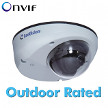 GV-MDR3400-1F 3MP 2.8mm H.264 Super Low Lux WDR Mini Fixed Rugged Dome IP Camera