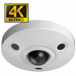 4K -12MP Ultra HD Vandal-proof IR Network Fisheye Camera WEC-EBW81200