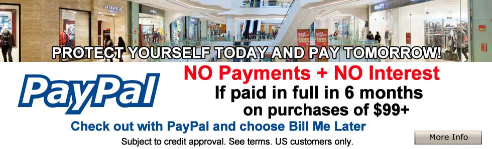 PayPal NO Payments and NO Interest