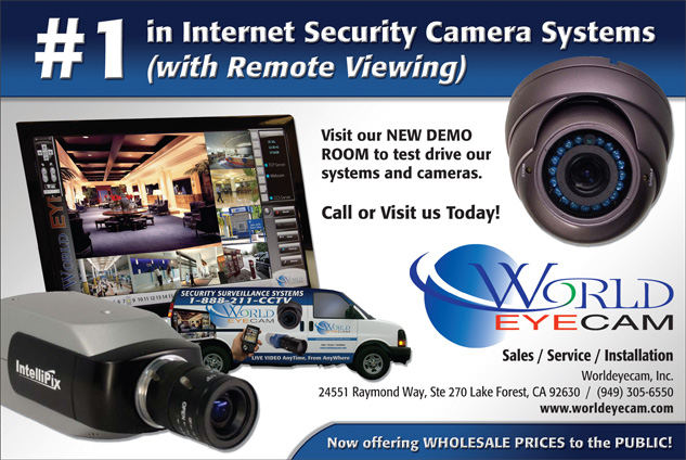 #1 in Internet Security Camera System