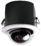 MR5CS-9 Videolarm 5� Indoor dome PTZ Camera System with 23x Day/Night camera, recessed ceiling mount, clear dome, w/24Vac input