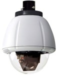 RHP7CS-9 Videolarm 7� Outdoor Vandal-Resistant dome PTZ Camera System with 23x Day/Night camera, pendant mount, rugged cast aluminum top and polycarbonate clear dome, w/24Vac input, heater/blower