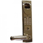 MA1AT BioAxxis 5-Latch Mortise Fingerprint Door Lock with Manual Deadbolt w/Audit Trail