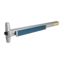 EL33A-NL-OP-3-US4 Von Duprin 33A Night Latch Trim Optional Pull Rim Exit Device, Electric Latch, 3' Length, Dull Brass