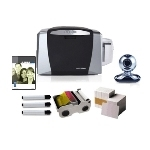 47600 HID DTC1000 Photo ID Printing System