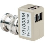 Vi1003M Passive Transceiver, Right Angle, Male BNC, W/ Surge Protection