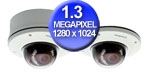 WEC-GV-VD120D High Definition Megapixel1.3M H.264 IR VANDAL PROOF IP DOME