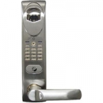 MA1 BioAxxis 5-Latch Mortise Fingerprint Door Lock with Manual Deadbolt
