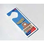 HT-CUSTOM-1-L-1000 Awid Custom Printed Hangtag, 1 Color on Front Side of Tag (Pack of 1000)