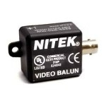 VB37F Nitek Video Balun Transceivers for Twisted Pair up to 750 feet (228 meters) w/ Female BNC